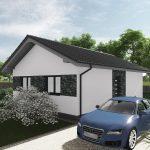Montovaný dom na kľúč do 80 000 €